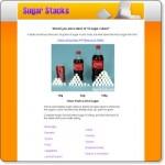 計算食物及飲料內含的糖分