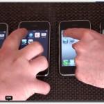 IPHONE 擺一起速度測試 2G+3G+3GS+4G